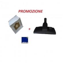 Combo! Spazzola Combinata + Sacchetto 12 LT Aldes